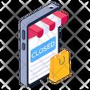 Mcommerce Mobile Shop Shopping App Icon