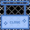 Close Salon Close Shop Close Store Icon