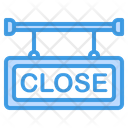 Close Signboard Close Sign Icon