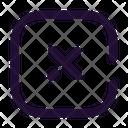 Close Square Icon