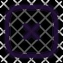 Close Square Close Stop Icon