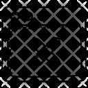 Close Tab Web Icon