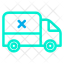 Stop Delivery Transporatation Icon