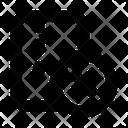Close Zip File Icon
