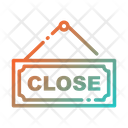 Closeclose Sign Closed Sign Board Sign Board Icon