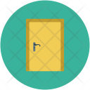 Closed Door Entrance Icon