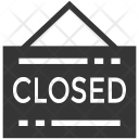 Closed Business Office Icon
