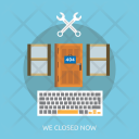 Closed Now Website Icon