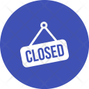 Closed Tag Hanging Icon