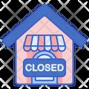 Closed Close Board Close Shop Icon