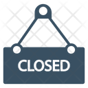 Closed Notice Shop Icon