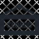 Closed Closed Board Closed Sign Icon