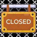 Closed Label Closed Closed Board Icon
