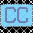 Closed Captioning Captioning Cc Icon