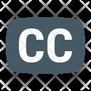 Closed Captioning Icon