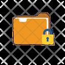 Closed Folder Secure Safe Icon