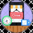 Mcommerce Closed Mobile Shop Mobile Shop Icon