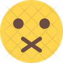 Closed Mouth Icon