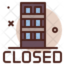 Closed Office Close Business Close Office Icon