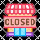 Closed Shop Icon