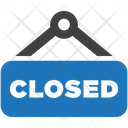 Closed Store Shop Icon