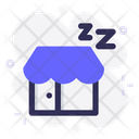 Closed Store Paid Leave Icon