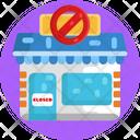 Closed Store Icon