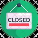 Closed Tag Closed Label Closed Sign Icon