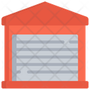 Closed Warehouse Icon