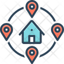 Closely Near Location Icon
