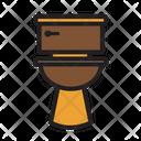 Bathroom Bowl Furniture Icon