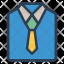 Cloth Shirt Tie Icon