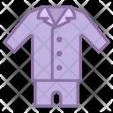 Cloth Mens Pajama Icon