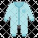 Cloth Kid Baby Icon