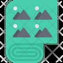 Cloth Pattern Brand Icon