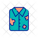 Cloth Shirt Beach Clothes Icon