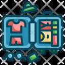 Cloth Bag Luggage Icon