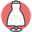 Cloth Stand Fabric Icon