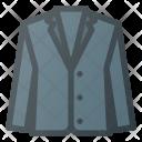 Cloth Coat Business Icon