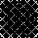 Cloth Barcode Icon