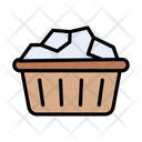 Basket Cloth Laundry Icon