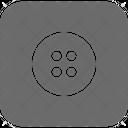 Cloth Button Icon