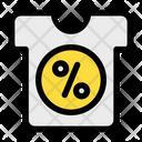 Clothes Discount Sale Icon