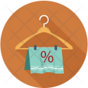 Cloth Discount Percentage Icon