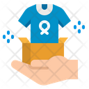 Charity Cloth Donation Icon