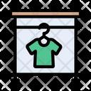 Cloth Hanger Wardrobe Icon