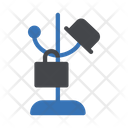 Cloth Stand Hanging Icon