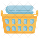 Basket Laundry Washing Icon