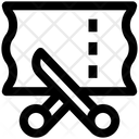 Clothe Cutting Icon