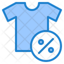 Clothe Discount Icon